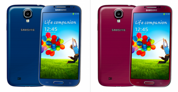 samsung s4 colors