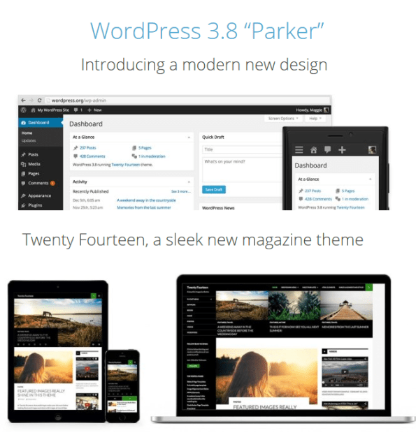 wordpress-parker-features
