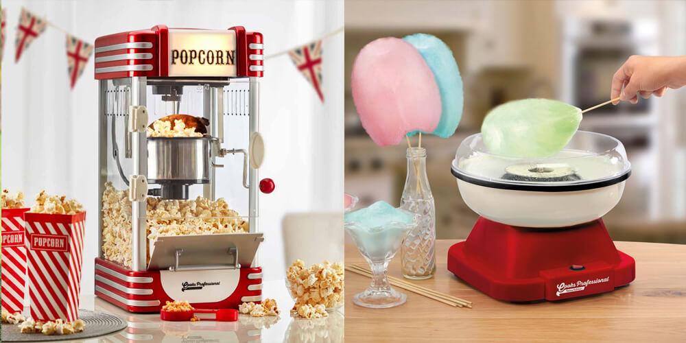 popcorn candyfloss machine