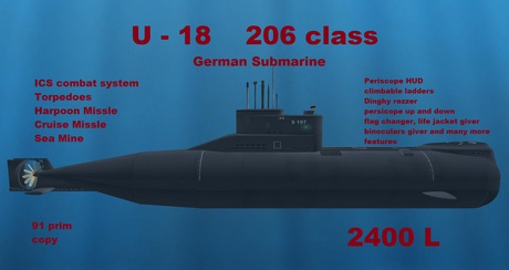 Kapal Selam Tipe 206