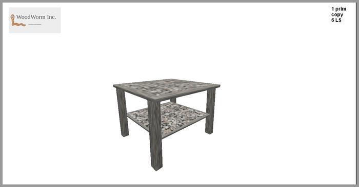 1 prim granite coffee table