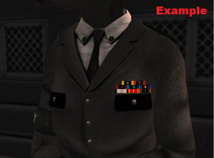 custom military ribbon rack