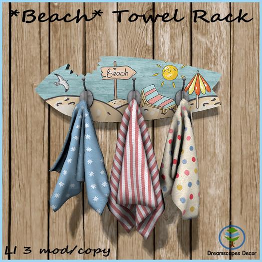 beach towel rack beach themed rack