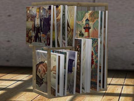 canvas painting photo storage