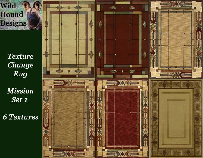 texture change rug