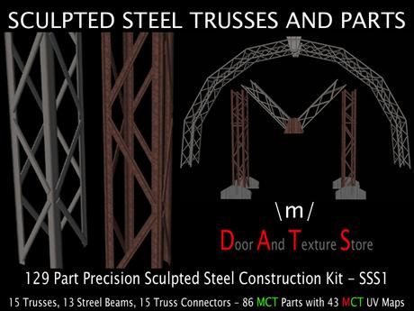 sculpted steel trusses 141 sculpt mesh