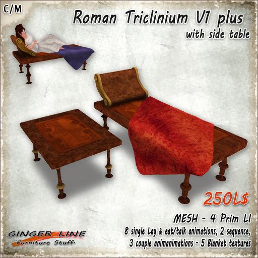roman triclinium v1 plus