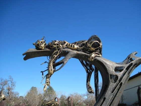 """Sweet Dreams"" Sculpture at Sculpterra Winery Sculpture Garden in Paso Robles, CA"