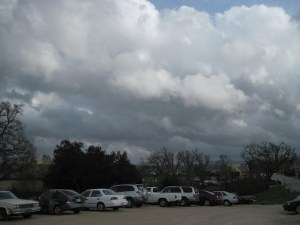 Storm Moving in Over Trader Joe's in Templeton in Mid-March