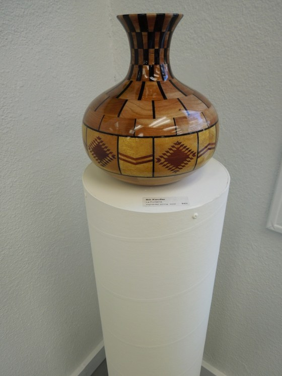 "Bill Kandler's ""La Fontaine""- Segmented turning wood."