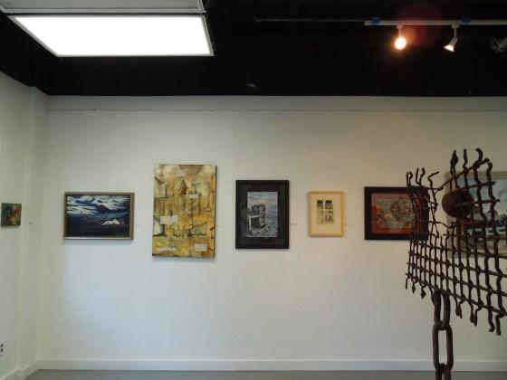 One Corner of the First Phantom Exhibit, San Luis Obispo