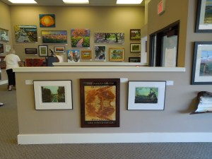 One Section of Phantom 2 Gallery Art Exhibit in Paso Robles