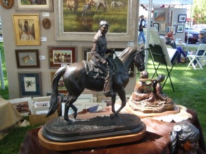 """Vel Miller's Ronald Reagan Sculpture """"Our American Legacy"""""""