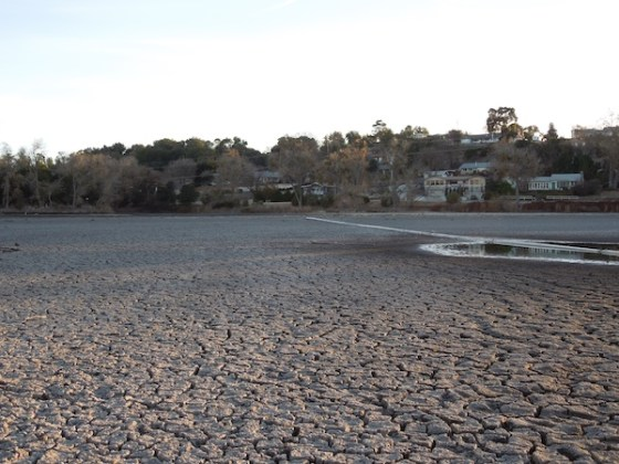 From the Middle of the Dry Atascadero Lake Bed, December 30, 2013
