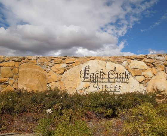 Eagle Castle Rock Sign, September 25, 014
