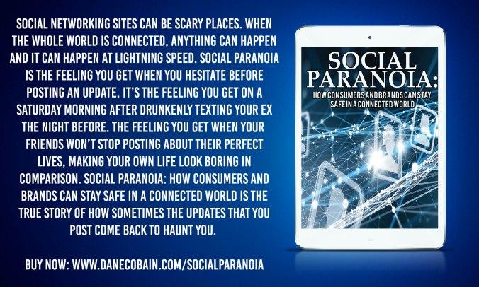 Social Paranoia infographic book summary.