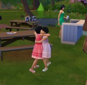 A rare and tender moment between Gemma and Leni at Phoebe's wedding.