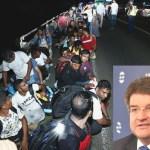 Pakt o migrácii – poslanec S. Drobný, citujúc slová M. Salviniho, vyzval M. Lajčáka odísť do Afriky.