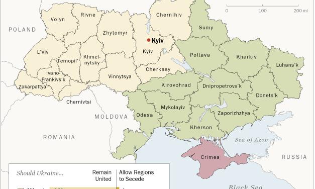 Západ pozná ruské názory na Ukrajine už desať rokov.