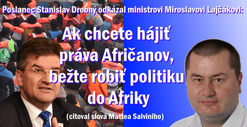 Kariérnemu diplomatovi Miroslavovi Lajčákovi sa z ministerskej stoličky nechce.