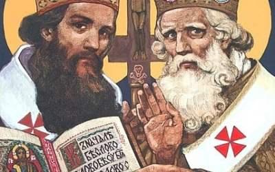Veriaci si pripomínajú slovanských vierozvestcov sv. Cyrila a Metoda.