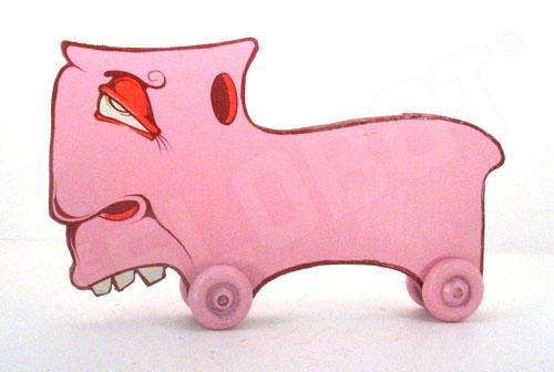 Charlie Alan Kraft Pink Toy