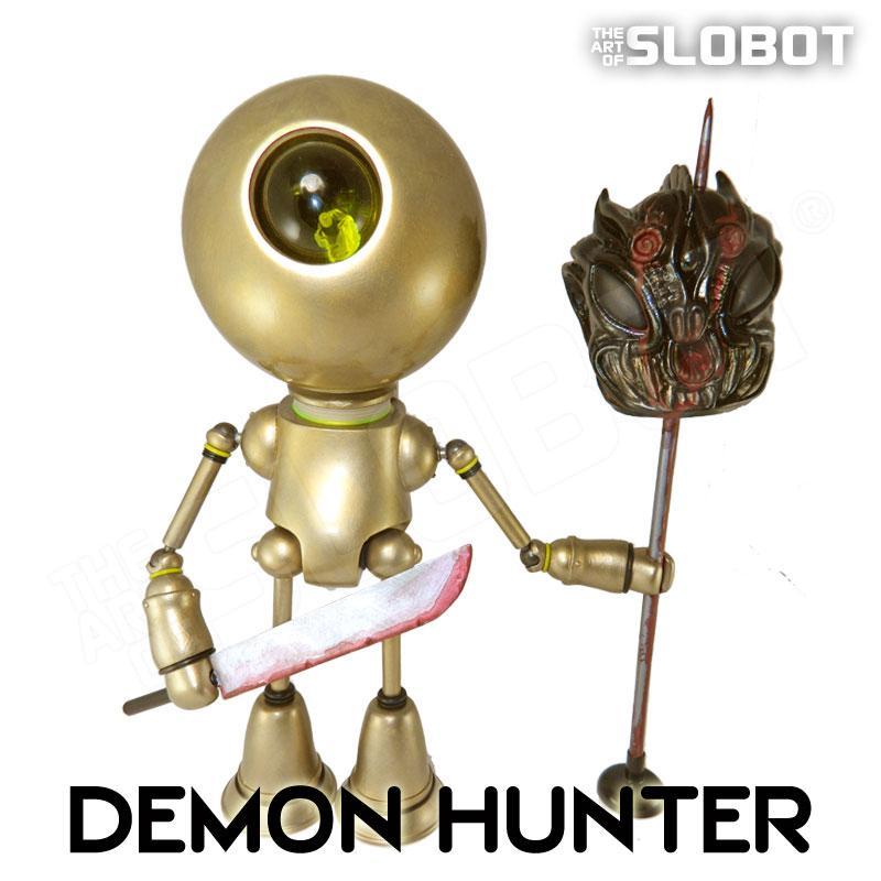 mke slobot robot artist custom toy demon paul kaiju