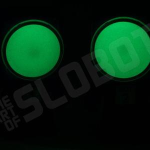 dr suess bot 1 bot 2 thing 1 thing 2 1 glow in the dark robots slobot robot sculpture