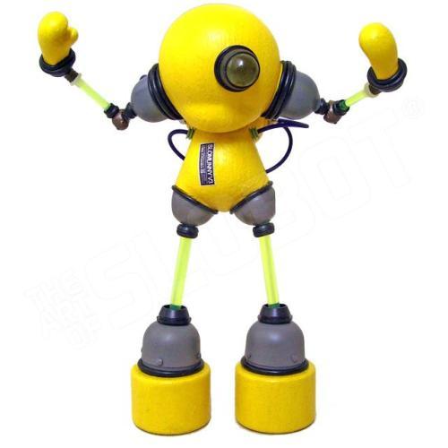 Robot Photo Print SloMunny v3 Kidrobot Munny