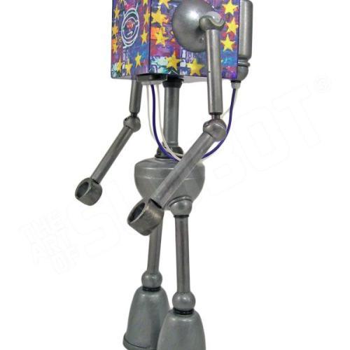 mike slobot robot u2 zooropa toy art gallery left side
