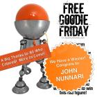 Deep Space 5 Sonar Seeker Robot Giveaway Free Goodie Friday