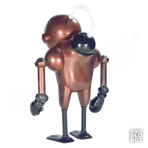 Mike Slobot Robot Sculpture Scube Steve Mk2 Back