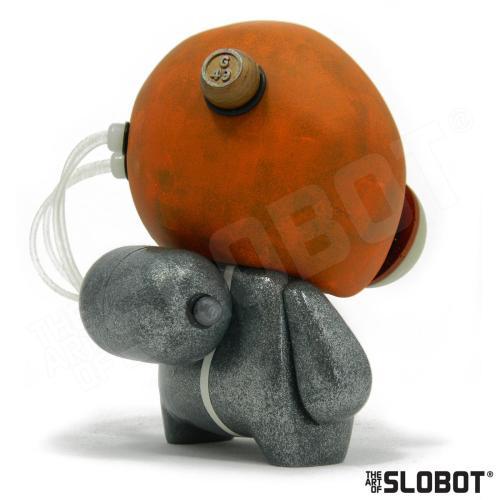 Mike Slobot G49 Robot Pop Art Left Read View