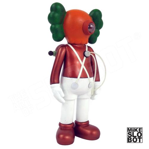 Mike Slobot Custom KAWS Companion Slonkabot 1000 Wonka oompa loompa right side