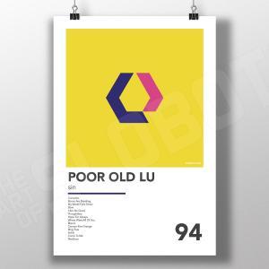 Mike Slobot Alternative Art for Poor Old Lu's 1994 album Sin