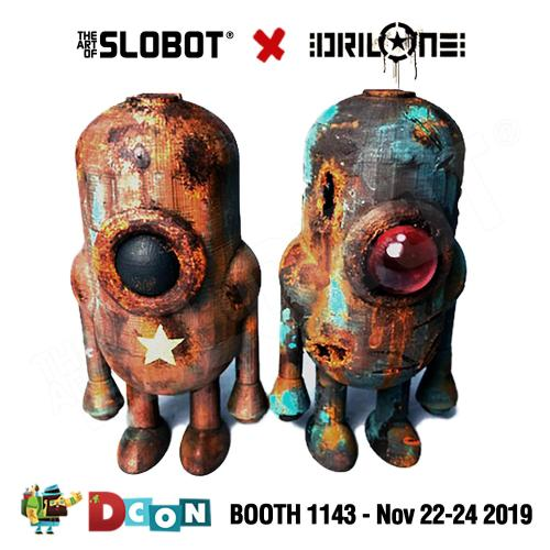 Carl 5 Robot (Mike Slobot vs DrilOne Editions)