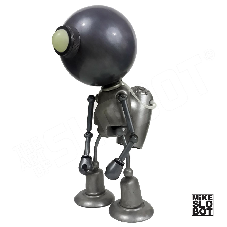 "Mike Slobot ""The Upgrade"" Robot Art Sculpture"