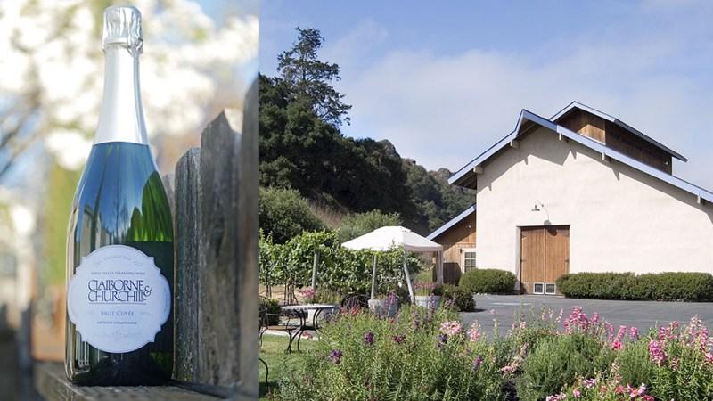 Claiborne & Churchill Sparkling Wine in SLO Coast Wine