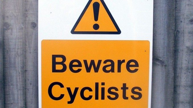 Cycling etiquette and riding side by side