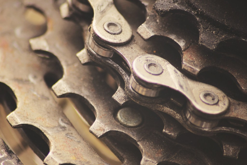 bicycle gears and chain how to get grease out of bike jerseys and shorts
