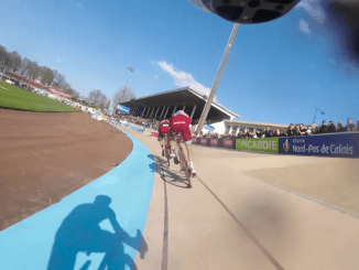 velon go pro in race footage