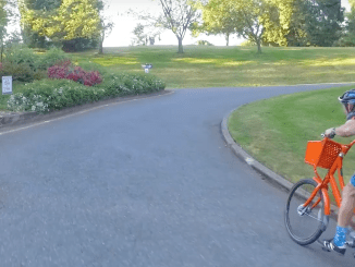 biketown council hill climb heavy bike how fast