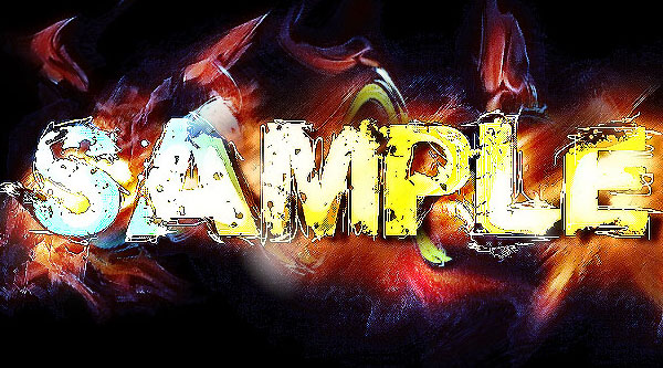 Design an Abstract Colourful, Artistic Feeling Text Effect in Photoshop