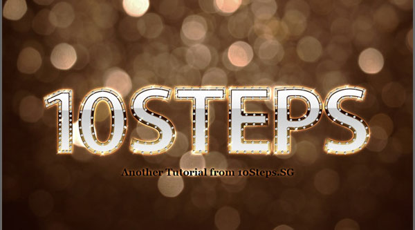 Create Detailed Letters of Gold and Diamond
