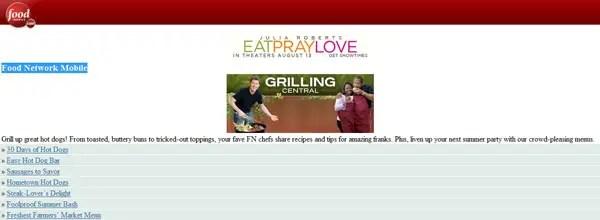 best customized iphone websites Food Network