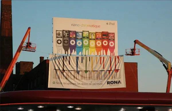 Rona sơn tái chế từ Apple