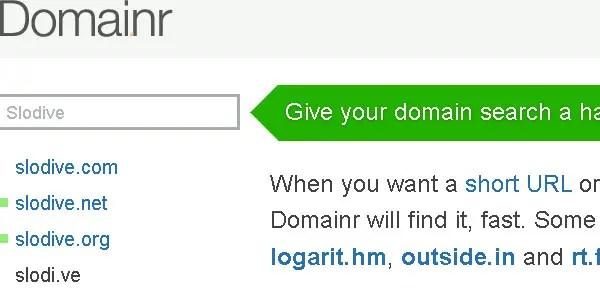 Domainr