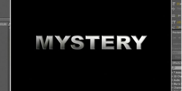 Mystery Text in Adobe After Effects
