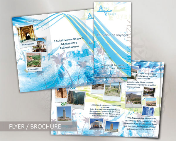 Brochure Travel agency