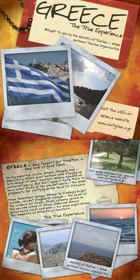 Travel Brochure - Greece